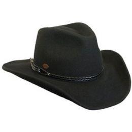 C1002 Wool Shapeable Waterproof Mens Western Cowboy Hats