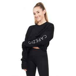 Capezio Black Capsule Crop Sweat Shirt Adult 11560W