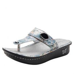 Alegria Carina Glacier Womens Thong Sandals CAR-221