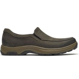 Rockport Dunham Brown Nubuck Men's Battery Park Slip-On CH3007