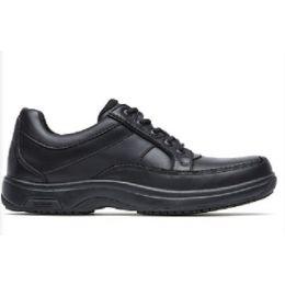Rockport Men's Black Dunham Midland Service Lace Up Comfort Shoes CH4763