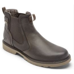 Rockport Dunham Dark Brown Men's Jake Waterproof Chelsea Boot CH6619