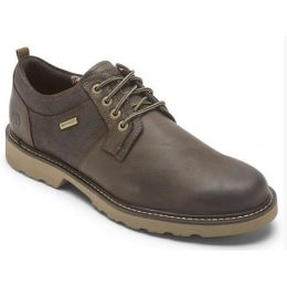 Rockport Dunham Dark Brown Men's Jake Waterproof Oxford CH6621