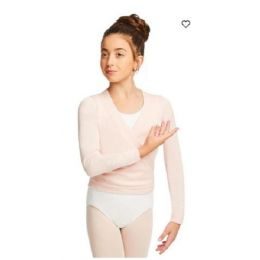 Capezio Girls Pink Wrap Sweater CK10949C