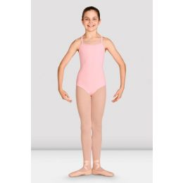 Bloch Candy Pink Laila Diamante Girl's Camisole Leotard CL2975