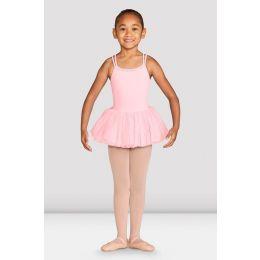 Bloch Candy Pink Dottie Cross Back Tutu Dress CL4987-CDP
