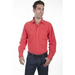 Scully Cayenne Casual Cotton Mens Long Sleeve Shirt CM7 **ONLINE ONLY