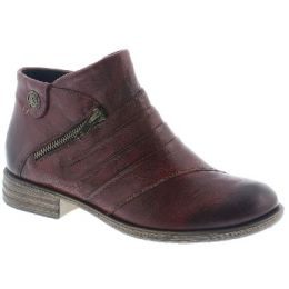 Remonte by Rieker Merlot Ankle Womens Comfort Boots D4971-35
