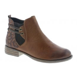 Remonte by Rieker Chestnut Womens Ankle Comfort Boots D4976-22