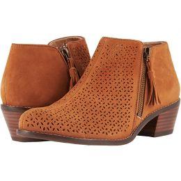 Vionic Caramel Daytona Womens Comfort Short Boots