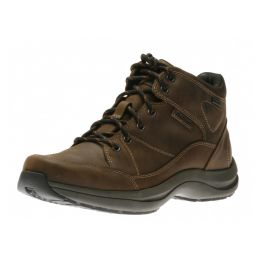 Rockport Simon Brown Leather Mens Comfort Lace Up Boot DBC03BR