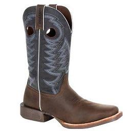 Durango Brown Rebel Pro Denim Blue Mens Western Boot DDB0216