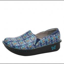 Alegria Rose's Blue Quilt Debra Ladies Nursing Shoes DEB-7602