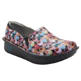 Alegria Multi Color Women's Debra Fresh Baked Slip-On Comfort Shoe DEB-7811