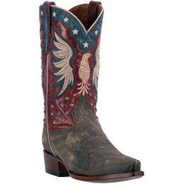 DP2505 Bountiful Bay Apache Red Dan Post Mens Western Cowboy Boots