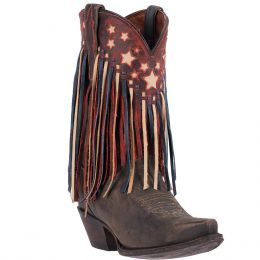 DP3531 Liberty Fringe Dan Post Womens Western Boots