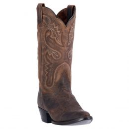 Dan Post Marla Womens Leather  R-Toe Western Boots DP3571