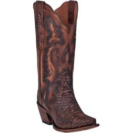 Dan Post Brown Lauryn Womens Snip Toe Boot DP3784