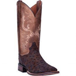 Dan Post Stark Ostrich Mens Western Boots DP4522