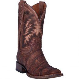 Dan Post Albert Alligator Mens Leather Western Boots DP4525