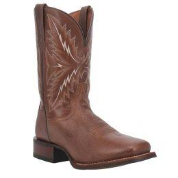 DanPost Brown Quintin Square Toe Mens Western Boots DPP0322