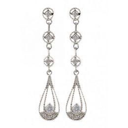 Montana Silversmith Star Lights Three Tiered Raindrop Earrings ER2765