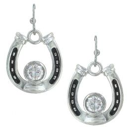 Montana Silversmith Horseshoe Treasure Earrings ER3208