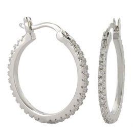 Montana Silversmith Classic Medium Hoop Earrings ER3875
