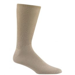 Wigwam Khaki Diabetic Walker Socks F1221