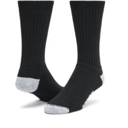 Wigwam Black Diabetic Sport Crew Socks F1363-052