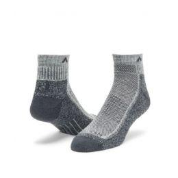 Wigwam Grey and Charcoal Cool Lite Hiker Quarter Socks F6066-931
