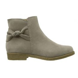 Rachel Kids Fae Girls Taupe Side Size Ankle Bootie FAE-Taupe