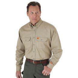 Wrangler Riggs Workwear FR Flame Resistant Mens Work Shirt FR3W5KH