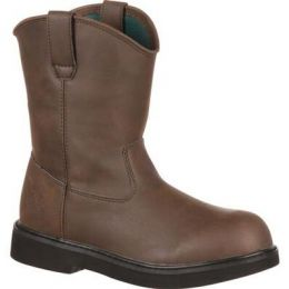 Georgia Boot Brown Little Kid Pull On Boot G099 **ONLINE ONLY
