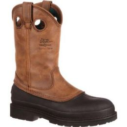 Georgia Boot Mississippi Brown Muddog Wellington Men's Work Boot g5514 **ONLINE ONLY