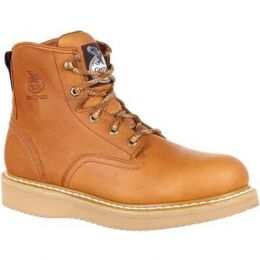 Georgia Boot Barracuda Gold Wedge Men's Work Boot G6152 **ONLINE ONLY