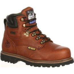Georgia Boot Briar Brown Hammer Internal Metatarsal Steel Toe Men's Work Boot G6315 **ONLINE ONLY