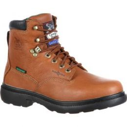 Georgia Boot Briar Brown Farm And Ranch Waterproof Mens Work Boots G6503 **ONLINE ONLY