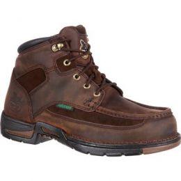 Georgia Boot Brown Athens Steel Toe Waterproof Mens Work Boots G7603 **ONLINE ONLY