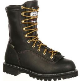 Georgia Boot Black Lace-To-Lace Gore-Tex Waterproof 200G Insulated Mens Work Boots G8040 **ONLINE ONLY