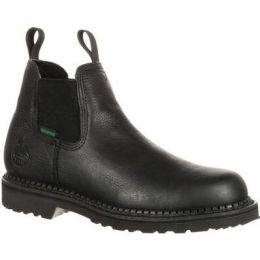 Georgia Black Giant Waterproof High Romeo Boot GB00084 **ONLINE ONLY