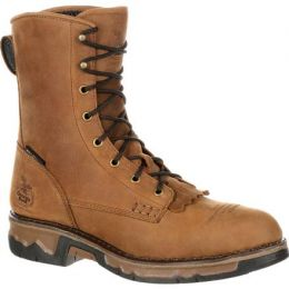 GB00114 Brown Carbo-Tec Waterproof Lacer Georgia Mens Work Boots