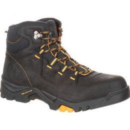 Georgia Boot Black Amplitude Waterproof Mens Work Boot GB00217 **ONLINE ONLY