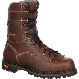 Georgia Boot AMP Lt Logger Composite Toe Low Heel Waterproof Mens Work Boot GB00238 **ONLINE ONLY