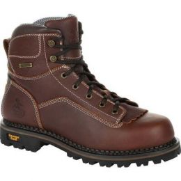 Georgia Boot AMP Lt Logger Low Heel Waterproof Mens Work Boots GB00270 **ONLINE ONLY