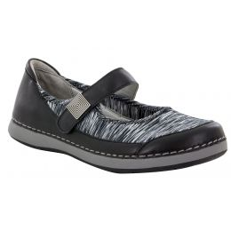 Alegria Gem Black Womens Comfort Shoes GEM-601