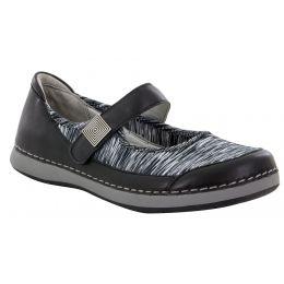 Alegria Gem Black Womens Comfort Shoes GEM-601