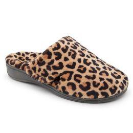 Vionic Gemma Women's Natural Leopard Mule Slippers GEMMA