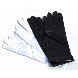 GL-01S Short Satin Gloves