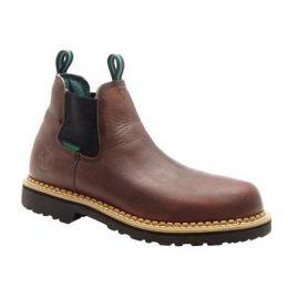 Georgia Soggy Brown Mens Giant Waterproof High Romeo Boot GR500